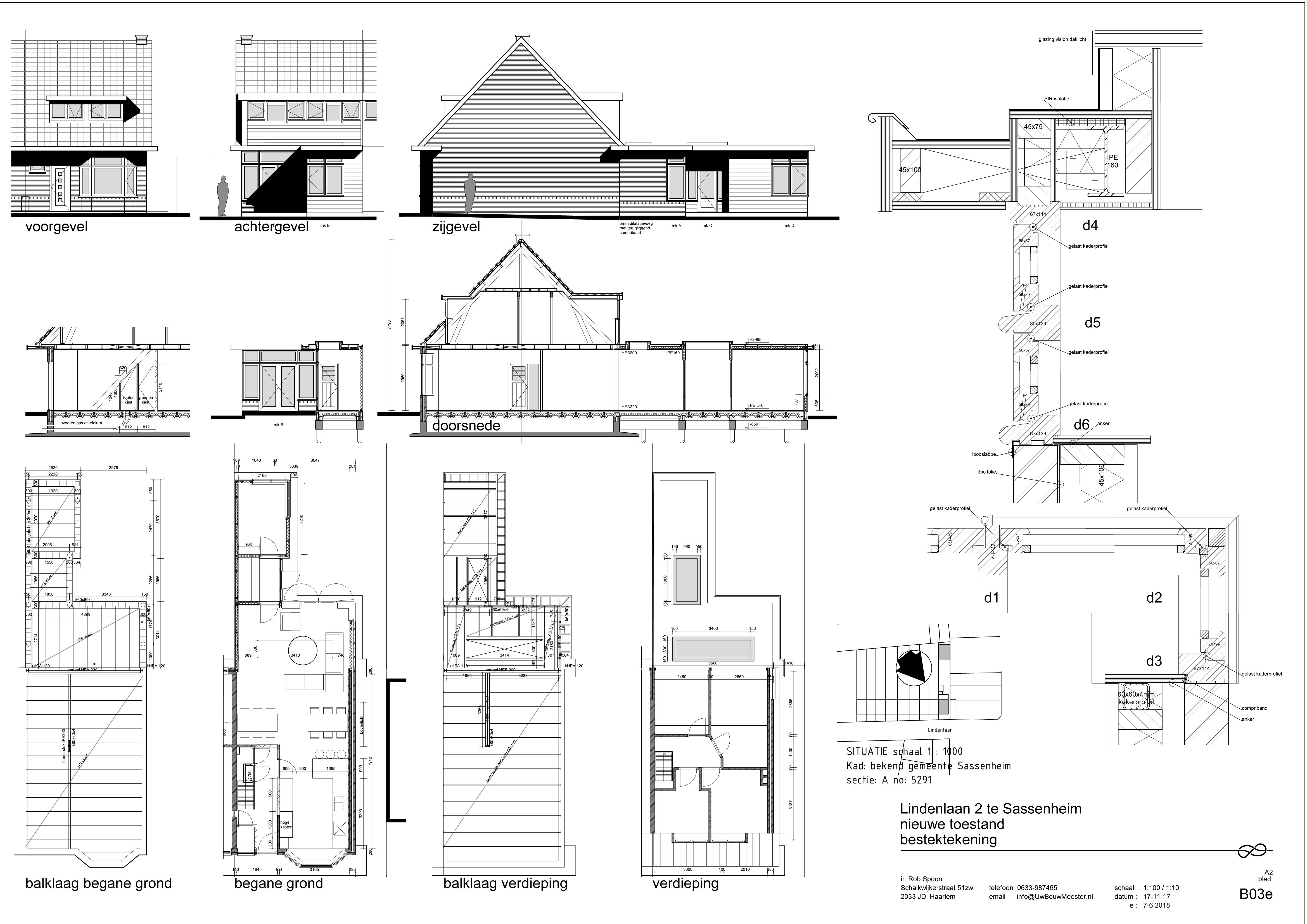 verbouwing en aanbouw Sassenheim